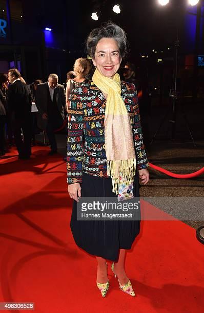 Irina Wanka during the 5th German Director Award Metropolis at HFF on November 8 2015 in Munich Germany