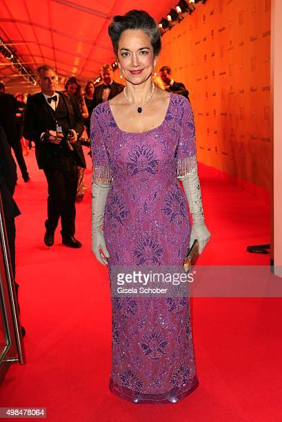 Irina Wanka during the Bambi Awards 2015 at Stage Theater on November 12 2015 in Berlin Germany