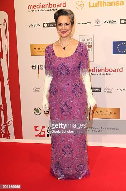 Irina Wanka during the European Film Awards 2015 at Haus Der Berliner Festspiele on December 12 2015 in Berlin Germany