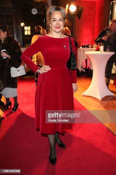 Irina Wanka during the Susanne Wiebe PopUp store opening at hotel Bayerischer Hof on January 10 2019 in Munich Germany
