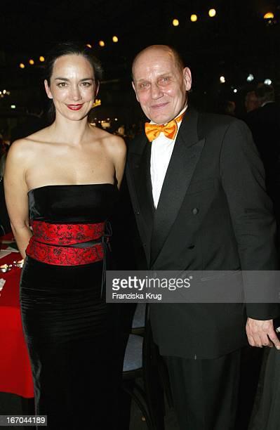 Irina Wanka Und Schauspieler Jürgen Schornagel Bei Der Aftershowparty Der Verleihung Des Europäischen Filmpreis In Berlin Am 061203