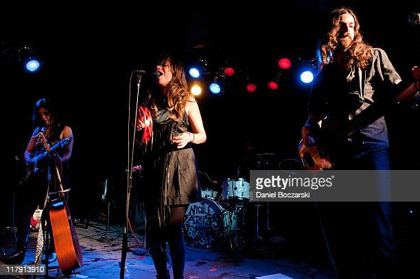 15 Nicole Atkins The Black Sea Perform In Chicago Illinois