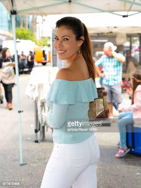 Iris Almario is seen on June 17 2018 in Los Angeles California