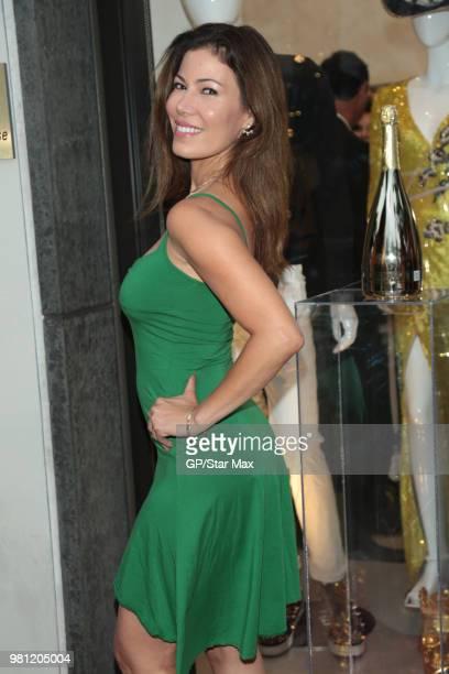 Iris Almario is seen on June 21 2018 in Los Angeles CA