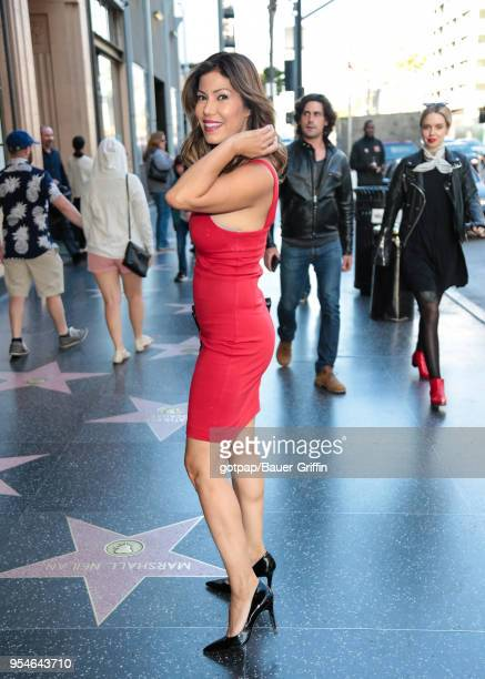 Iris Almario is seen on May 03 2018 in Los Angeles California