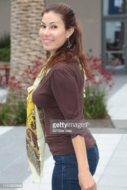 Iris Almario is seen on May 18 2019 in Los Angeles