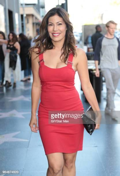 Iris Almario is seen on May 3 2018 in Los Angeles CA
