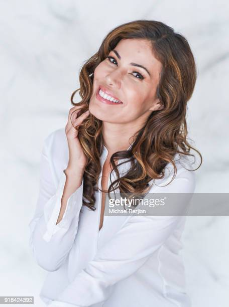 Iris Almario poses for portrait at The Artists Project Giveback Day on February 14 2018 in Los Angeles California