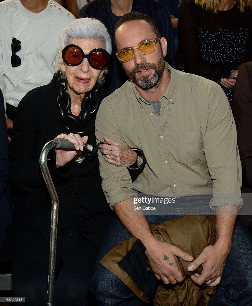 3.1 Phillip Lim - Front Row - Spring 2016 New York Fashion Week : News Photo