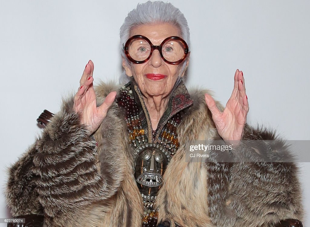 The Holiday House Opening Night Benefit Honoring Iris Apfel : News Photo