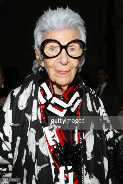 Iris Apfel attends the premiere of 'Manolo The Boy Who Made Shoes for Lizards' hosted by Manolo Blahnik with The Cinema Society at The Frick...