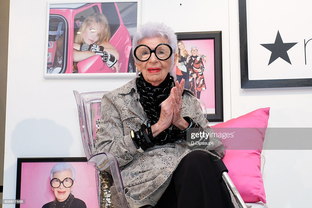 Macy's Welcomes Style Icon Iris Apfel : News Photo