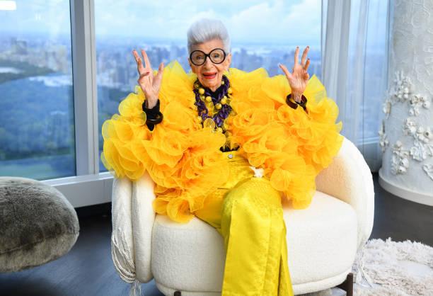 NY: Iris Apfel's 100th Birthday Party at Central Park Tower
