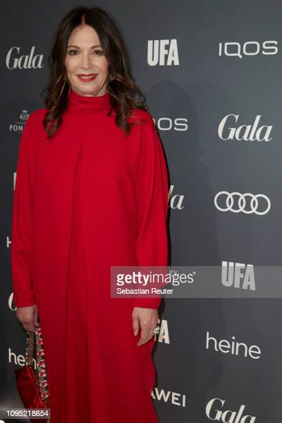 Iris Berben attends the Berlin Opening Night by GALA UFA Fiction at Das Stue on February 7 2019 in Berlin Germany