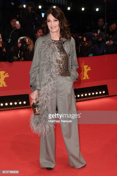 Iris Berben attends the closing ceremony during the 68th Berlinale International Film Festival Berlin at Berlinale Palast on February 24 2018 in...