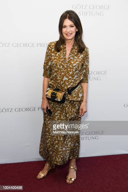 Iris Berben attends the Goetz George Award at Astor Film Lounge on July 23 2018 in Berlin Germany