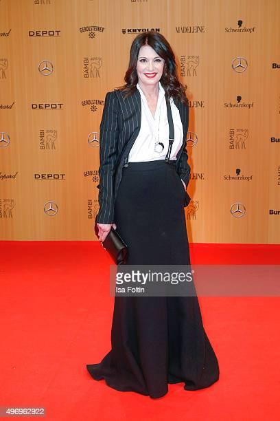 Iris Berben attends the Kryolan At Bambi Awards 2015 Red Carpet Arrivals on November 12 2015 in Berlin Germany