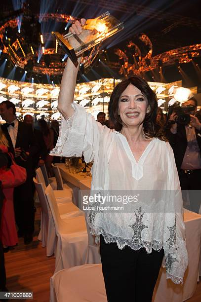 Iris Berben attends the Radio Regenbogen Award 2015 on April 24 2015 in Rust Germany