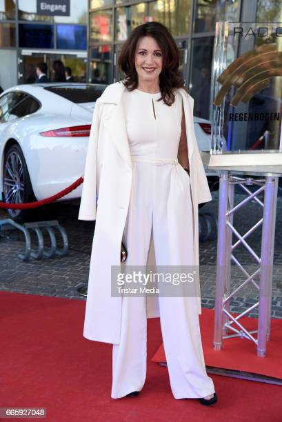 Iris Berben attends the Radio Regenbogen Award 2017 at EuropaPark on April 7 2017 in Rust Germany