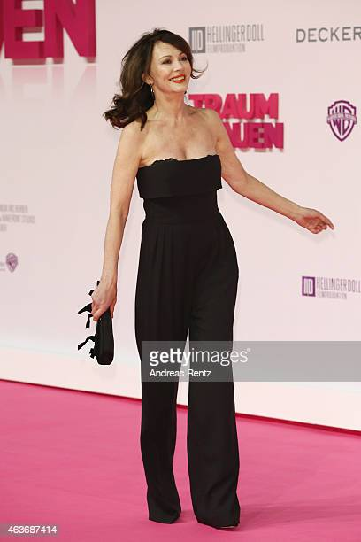 Iris Berben attends the Traumfrauen premiere at CineStar on February 17 2015 in Berlin Germany