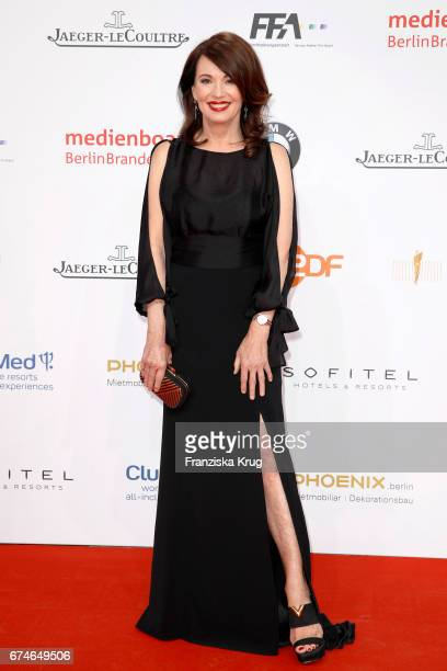 Iris Berben during the Lola German Film Award red carpet arrivals at Messe Berlin on April 28 2017 in Berlin Germany