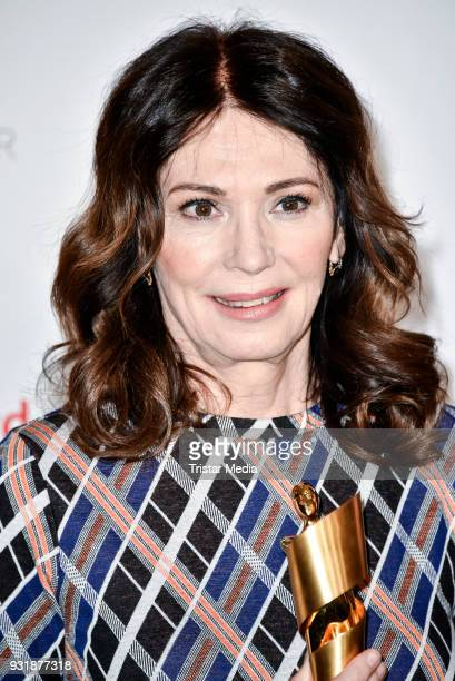 Iris Berben during the nominees announcement for the Lola German film award at on March 14 2018 in Berlin Germany The German film award will take...