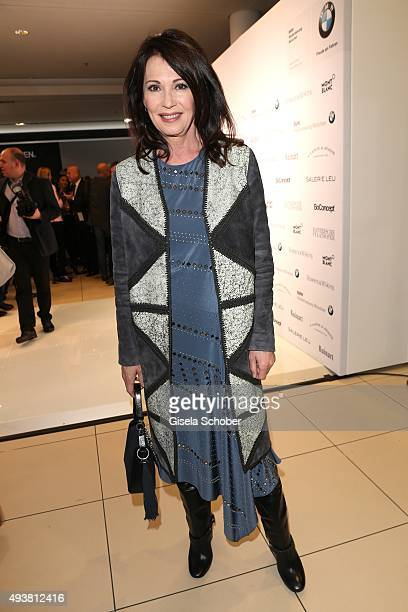 Iris Berben during the presentation of the new BMW 7 Series on October 22 2015 in Munich Germany