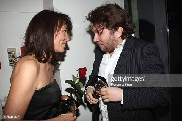 Iris Berben Und Christian Ulmen Bei Der Verleihung Des 44 Adolf Grimme Preis Im Theater In Marl Am 040408