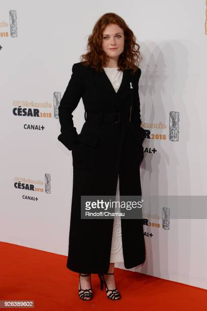 Iris Bry arrives at the Cesar Film Awards 2018 at Salle Pleyel on March 2 2018 in Paris France