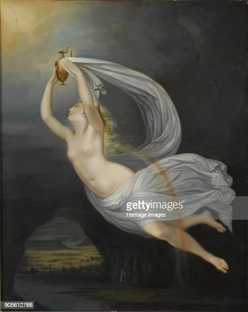 Iris Carrying the Water of the River Styx to Olympus Private Collection