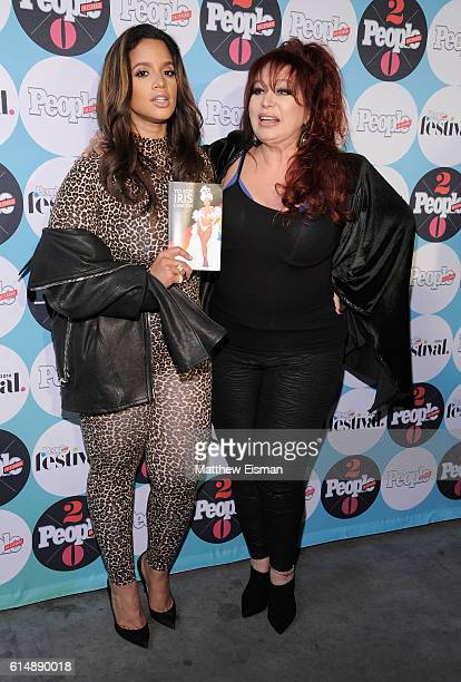 Iris Chacon and Dascha Polanco attend the 5th Annual Festival PEOPLE En Espanol Day 1 at the Jacob Javitz Center on October 15 2016 in New York City