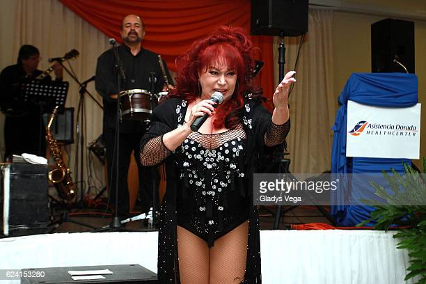 "Iris Chacon performs as part of special event ""Bohemia con Iris Chacon"" at Lions Club on November 18, 2016 in Bayamon, Puerto Rico."