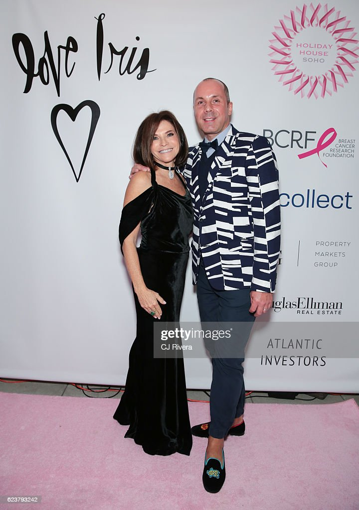 Iris Dankner and Harry Heissman attend the Holiday House Opening Night Benefit Honoring Iris Apfel at The Sullivan Mansions on November 16, 2016 in New York City.