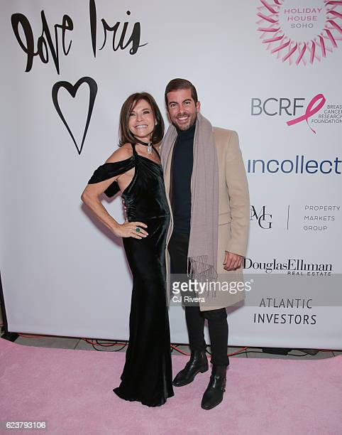 Iris Dankner and Luis Ortiz attend the Holiday House Opening Night Benefit Honoring Iris Apfel at The Sullivan Mansions on November 16 2016 in New...