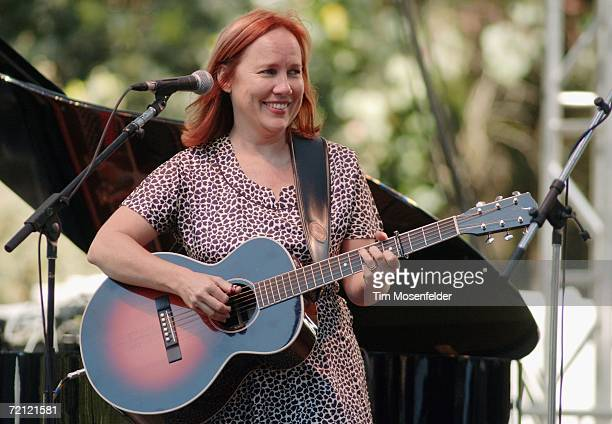 Iris Dement performs as part of Hardly Strictly Bluegrass 6 at Speedway Meadow in Golden Gate Park on October 8 2006 in San Francisco California