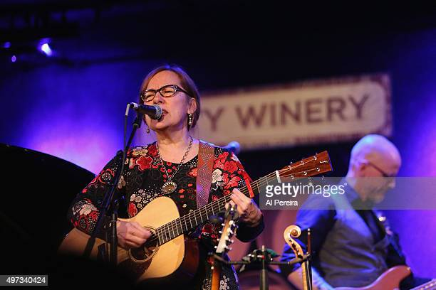Iris DeMent performs at City Winery on November 15 2015 in New York City