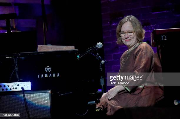 Iris DeMent performs onstage during the 2017 Americana Music Association Honors Awards on September 13 2017 in Nashville Tennessee