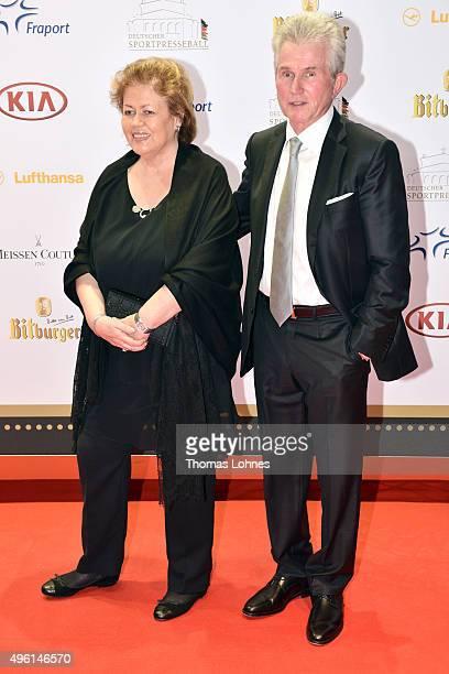 Iris Heynckes and Jupp Heynckes attend the German Sports Media Ball at Alte Oper on November 7, 2015 in Frankfurt am Main, Germany.
