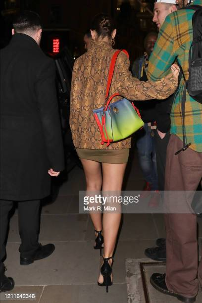 Iris Law at the Mulberry Regent Street Store on March 10, 2020 in London, England.