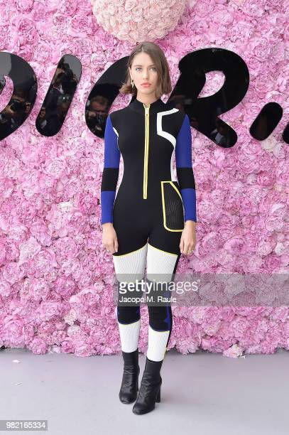 Iris Law attends the Dior Homme Menswear Spring/Summer 2019 show as part of Paris Fashion Week on June 23, 2018 in Paris, France.