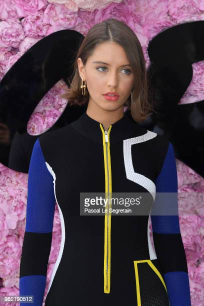 Iris Law attends the Dior Homme Menswear Spring/Summer 2019 show as part of Paris Fashion Week on June 23 2018 in Paris France