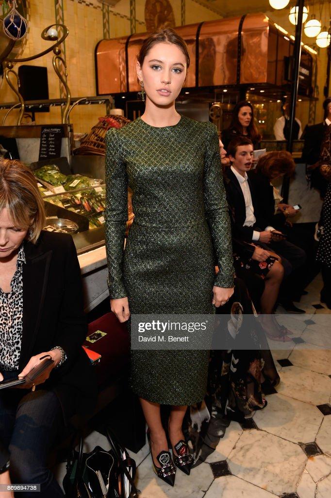 Dolce & Gabbana Italian Christmas at Harrods - Front Row