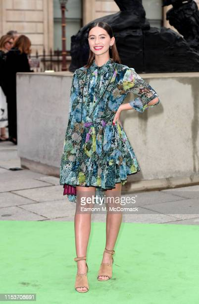 Iris Law attends the Royal Academy of Arts Summer exhibition preview at Royal Academy of Arts on June 04, 2019 in London, England.