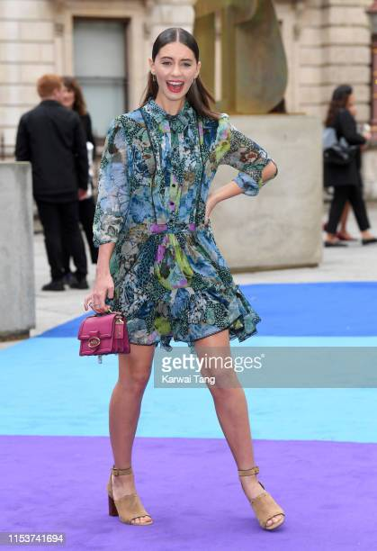 Iris Law attends the Royal Academy of Arts Summer exhibition preview at Royal Academy of Arts on June 04 2019 in London England