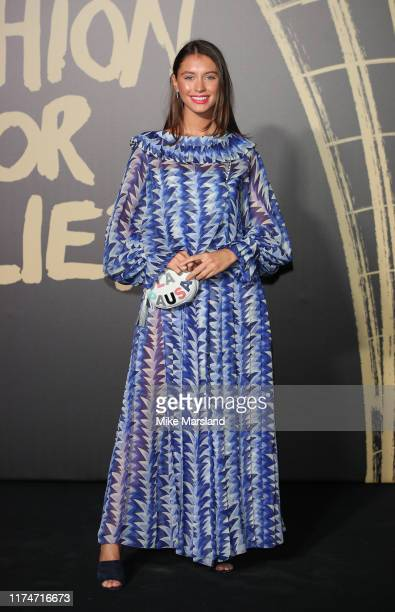 Iris Lawattends Fashion For Relief London 2019 at The British Museum on September 14, 2019 in London, England.