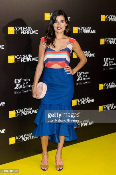 Iris Lezcano attends 'Academia del Perfume' awards 2017 at Teatro de la Zarzuela on May 22 2017 in Madrid Spain