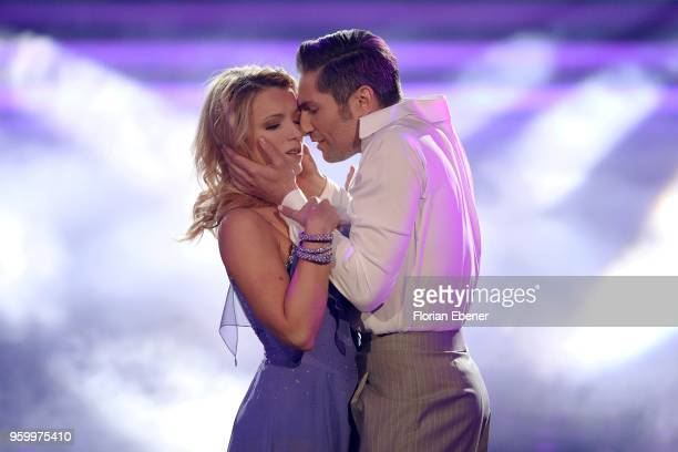 Iris Mareike Steen and Christian Polanc during the 9th show of the 11th season of the television competition 'Let's Dance' on May 18 2018 in Cologne...