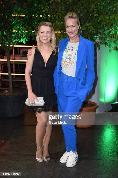 Iris Mareike Steen and Eva Mona Rodekirchen attend the International Music Awards at Verti Music Hall on November 22 2019 in Berlin Germany