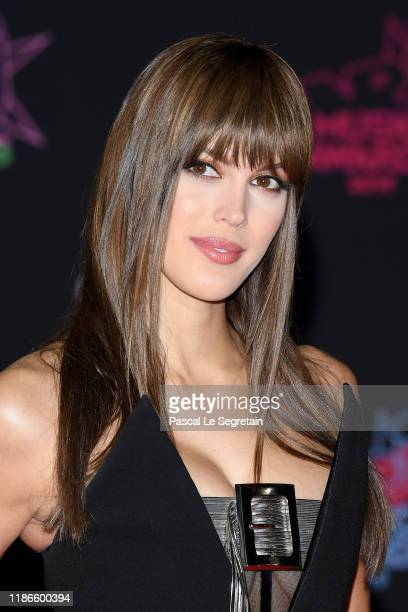 Iris Mittenaere attends the 21st NRJ Music Awards at Palais des Festivals on November 09, 2019 in Cannes, France.