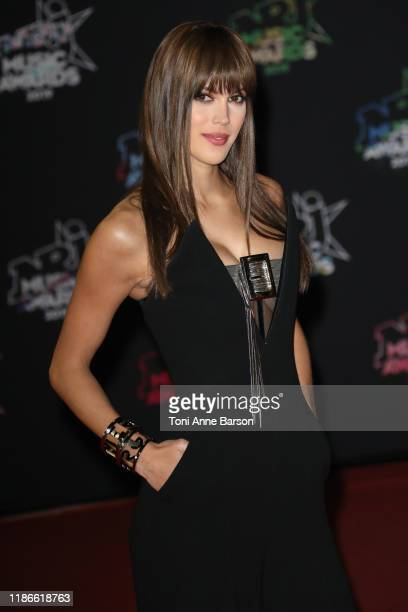 Iris Mittenaere attends the 21st NRJ Music Awards At Palais des Festivals on November 09 2019 in Cannes France
